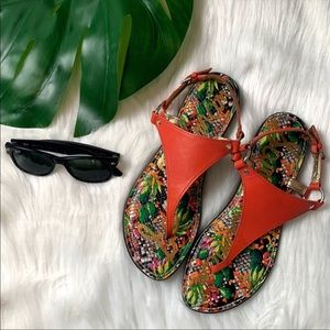 Sam Edelman | Tropical Floral Gladiator Sandal
